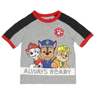 Paw Patrol Little Boys Always Ready T-Shirt