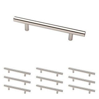 Franklin Brass P01026-B 5 Inch Center to Center Bar Cabinet Pull - 10 Pack