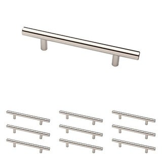 Franklin Brass P35304K-B 4 Inch Center to Center Bar Cabinet Pull - 10 Pack
