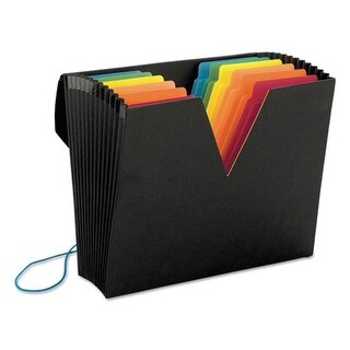 Smead Manufacturing Colorvue Expanding File with Supertab, 13