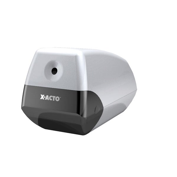 X-ACTO Helix Electric Non-Skid Steel Pencil Sharpener, 3 x 6-1/2 x 4-1/2 Inches, Silver. Opens flyout.