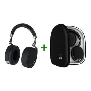 Refurbished Parrot Zik PF560000SE with Case Zik Bluetooth Headphones - Black