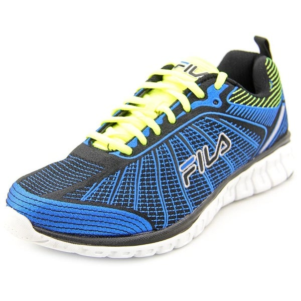 Fila SpeedWeave Run II Men Round Toe Canvas Blue Running Shoe