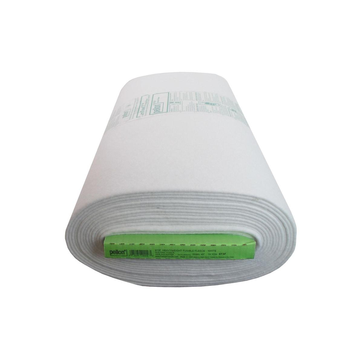 44 x 20yd White Pellon Fusible Fleece 22 X 36-Inches