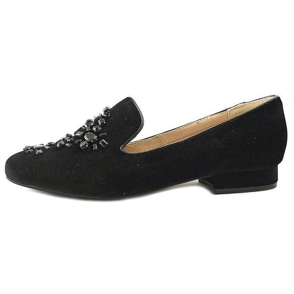 Unisa Womens liblli Fabric Almond Toe Loafers - 9