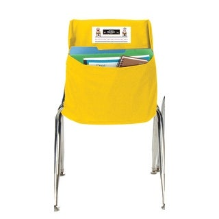 Seat Sack 14 In. Durable Small Storage Pocket, Yellow