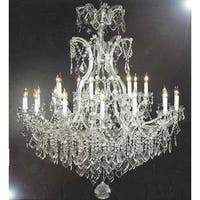 Crystal Chandelier Lighting Dressed With Swarovski Crystal