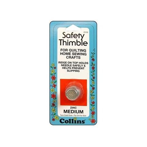 Collins Safety Thimble Zinc Medium Zinc