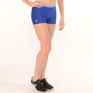 Workout Compression Shorts In Blue