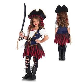 Girls Caribbean Pirate Halloween Costume