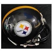 Signed Coates Sammy Pittsburgh Steelers Replica Pittsburgh Steelers Mini Helmet autographed