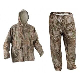 Coleman 2000014940 Camouflage Rain Suit, 2 Extra Large, 0.10 mm PVC