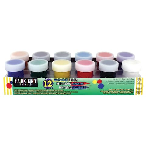 Sargent art 665418 premier washable paint set