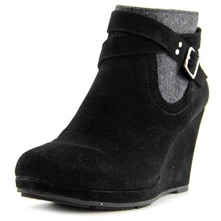 Style & Co Anetta Women Round Toe Synthetic Black Bootie