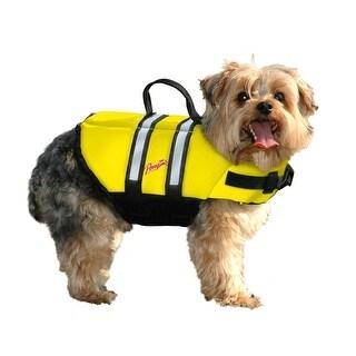 Pawz Pet Products Nylon Dog Life Jacket Extra Extra Small Yellow