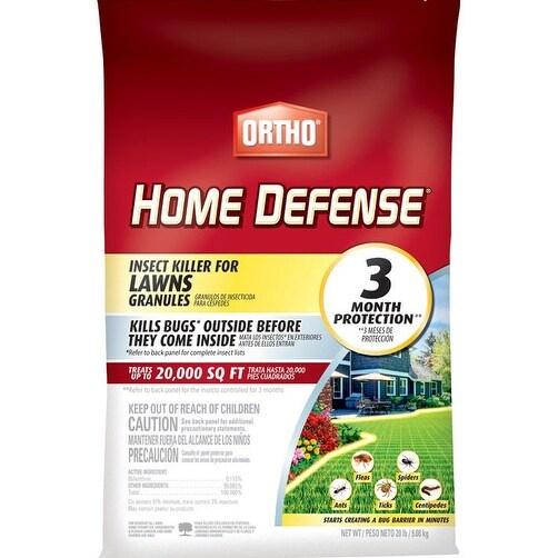 Ortho 0167210 Home Defense Insect Killer For Lawns Granule, 20 LB