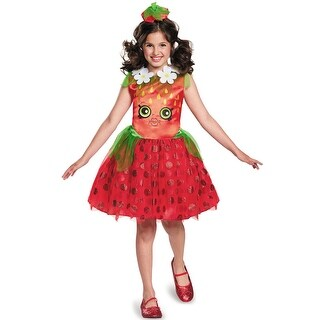 Disguise Strawberry Kiss Classic Child Costume - Red