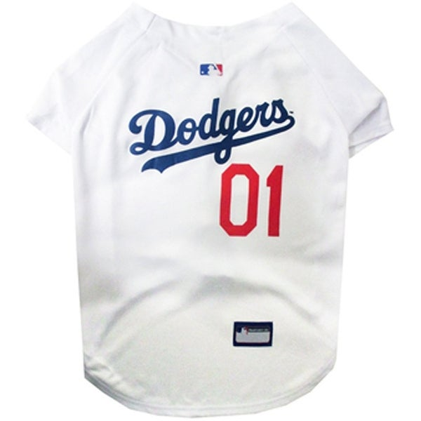 119d33de8c0 Shop MLB Los Angeles Dodgeers Pet Jersey - On Sale - Free Shipping On  Orders Over  45 - Overstock - 12237963