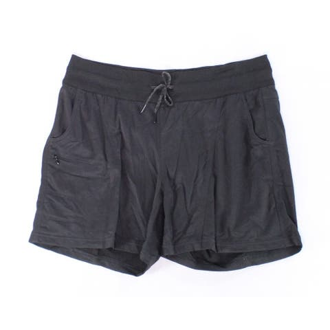 The North Face Women's Shorts Black Size Large L Drawstring Athletic