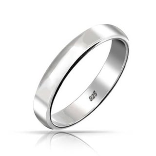 Sterling Silver Wedding Rings For Less Overstock