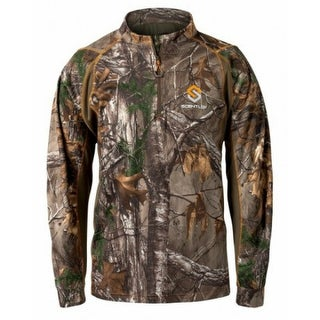 Scentlok Savanna Attack Zip Shirt Realtree Xtra - Large Savanna Attack Zip Shirt