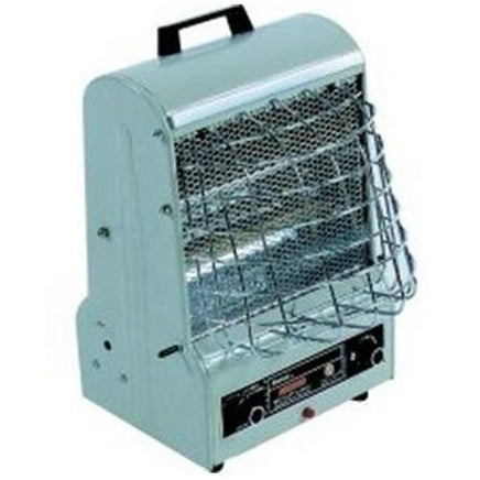 TPI 198TMC Combination Radiant & Fan-Forced Heater, 5120 BTU, 120 V