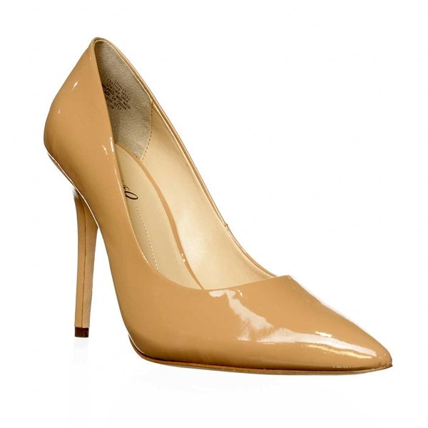 Boutique 9 Sally Pointed Toe Pump Heels - Natural