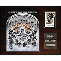 NHL 12 x 15 in. Los Angeles Kings 2013-2014 Stanley Cup Champions