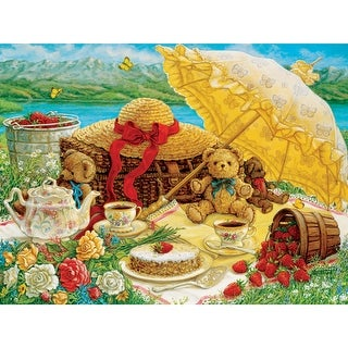 Outset Media Jigsaw Puzzle 500 Pieces 24 x 18 in. Teddy Bear Picnic