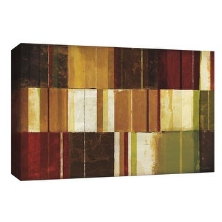 """PTM Images 9-154110  PTM Canvas Collection 8"""" x 10"""" - """"Spice Patches I"""" Giclee Abstract Art Print on Canvas"""