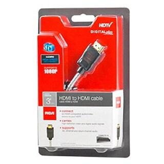 GE/RCA RCADH3HHRM Rca Digital Plus HDMI To HDMI Cables
