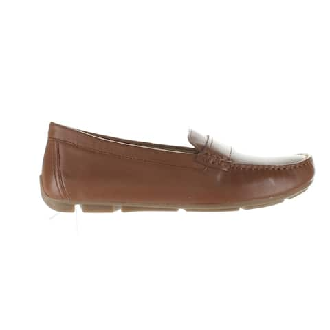 Naturalizer Womens Brynn Saddle Loafers Size 6 (Wide)