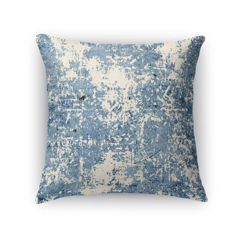 Kavka Designs blue parma accent pillow with insert