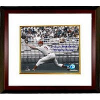 Frank Howard signed Washington   8x10 Photo Hondo Capital Punisher Custom Framed MLB Hologra