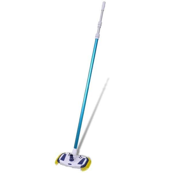 Shop vidaXL Swimming Pool Vacuum w/ Telescopic Pole and Hose