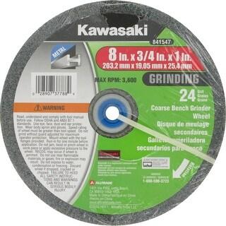 """Kawasaki� 8"""" Diameter Bench Grinder Wheel 24 Grit Coarse - 841547"""