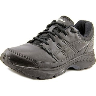 Asics GEL-Foundation Workplace 2E Round Toe Leather Sneakers