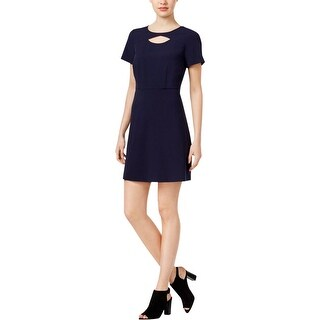 Kensie Womens Casual Dress Cut-Out A-Line