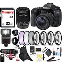 Canon EOS 80D DSLR Camera (Body Only) Bundle Intl Model