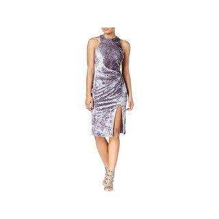 XOXO Womens Juniors Special Occasion Dress Velvet Crushed