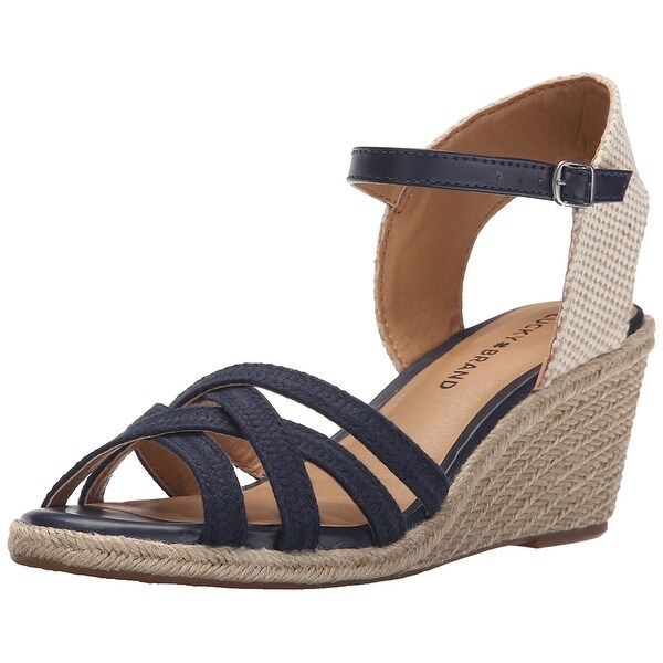 Lucky Women's Kalley3 Espadrille Wedge Sandal
