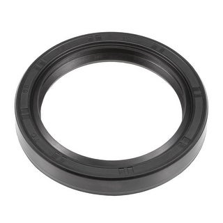 Oil Seal, TC 55mm x 72mm x 10mm, Nitrile Rubber Cover Double Lip - 55mmx72mmx10mm
