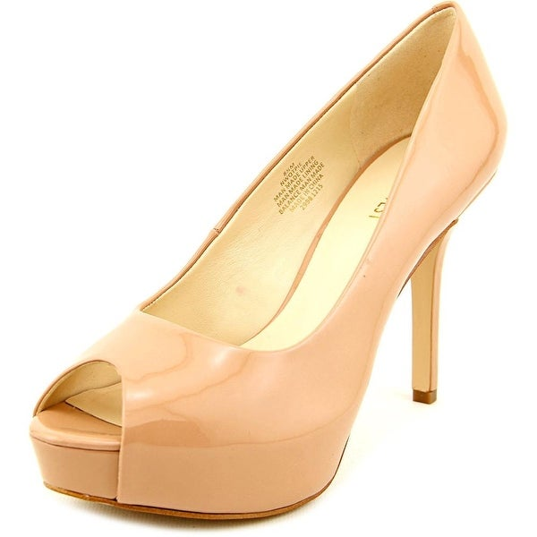 80da99bf7b1b Shop Nine West QTPie Women Open Toe Synthetic Nude Platform Heel ...