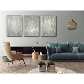 Link to Chenille IV Framed Print - Grey Similar Items in Art Prints