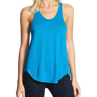 Eileen Fisher NEW Blue Atlantis Women's Size Large L Tank Cami Solid Top