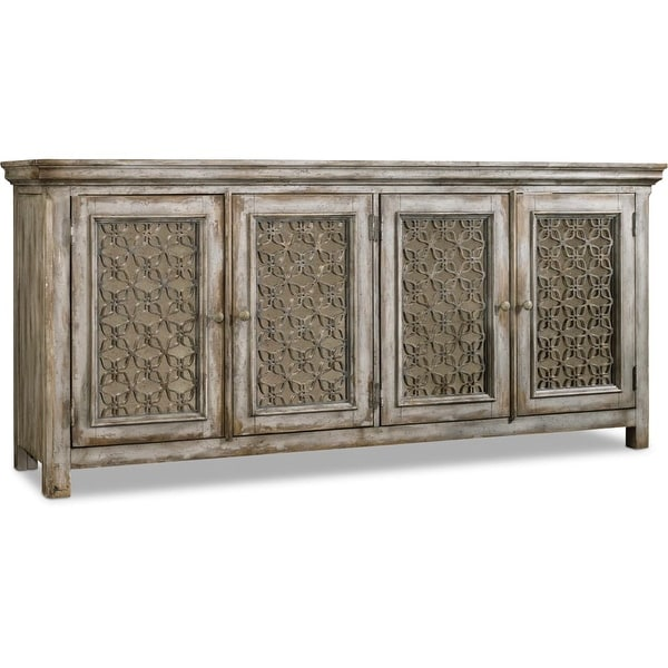 Shop Hooker Furniture 638 85236 80 Wide Hardwood Media