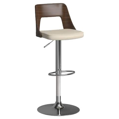 Carson Carrington Visby Mid-century Modern Swivel Adjustable Bar Stool