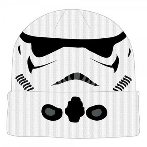 Star Wars Stormtrooper Cuff Beanie - White