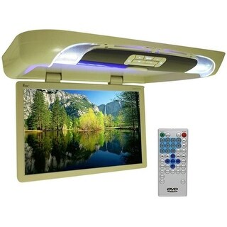 UEI 20 in. Tan Lcd Overhead Monitor with Dvd Player And Remote