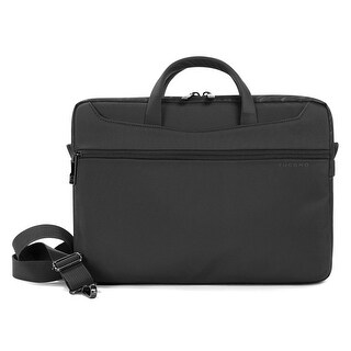 """Tucano Work_Out II Slim Water Resistant Laptop Bag with Anti-Shock System and Tablet Compartment for Macbooks up to 13"""""""